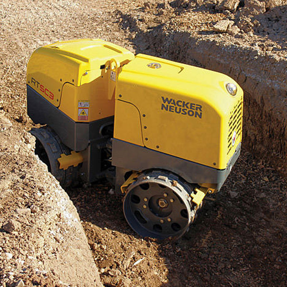 New Trench Roller Enters The Fleet Impact Plant Hire